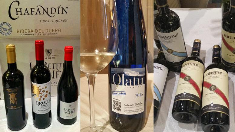 Savoring Spanish Wines atSAVBOR